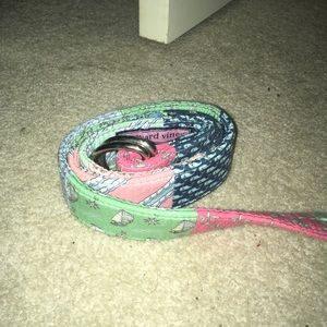 Patchwork Vineyard Vines belt